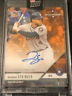 2018 Topps NOW PS-32E George Springer Houston Astros On-Card Autograph 3 5