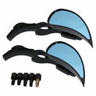Black Rearview Mirrors 130 For Suzuki Boulevard M109R M50 M90 M95 C50 C90