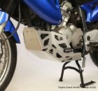 Honda XL650 Transalp bottom Engine Guard Skid Plate with Sliders XL 650 V