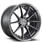 20 Staggered Niche Wheels M197 Sector Gloss Anthracite Rims FS