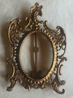 Antique Gold Gilt Victorian Baroque Ornate Cast Iron Picture Frame N.B.