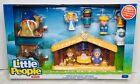 Fisher Price Little People Childrens Nativity Set Manger 11 Figures NEW Sealed