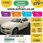 2015 WHITE BMW 428i 20 T M SPORT PETROL AUTO 2DR COUPE CAR FINANCE FR 79 PW