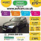 2012 BLACK BMW X5 30 XDRIVE30D M SPORT DIESEL AUTO 4X4 CAR FINANCE FR 75 PW