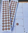 39 Basketball Planner Stickers for Various Types of Planners