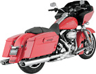 Vance  Hines 55 Monster Oval S O Exhaust Mufflers Chrome Harley Touring 95 16