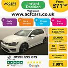 2015 WHITE VW GOLF R 20 TSI 300 DSG 4X4 PETROL 3DR HATCH CAR FINANCE FR 71 PW