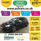 2015 BLACK VW GOLF R 20 TSI 300 DSG 4X4 PETROL 5DR HATCH CAR FINANCE FR 75 PW
