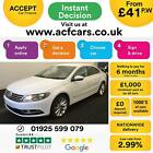 2015 WHITE VW CC 20 TDI 140 BMT GT DSG DIESEL AUTO SALOON CAR FINANCE FR 41 PW
