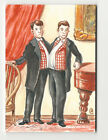 Conjoined Twins 2013 Viceroy Carnival Artist Sketch Card by Neil Camera 1 1
