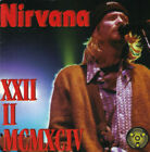 NIRVANA (CD) XXII II MCMXCIV LIVE IN EUROPE 1994 MADE IN ITALY NEW SEALED RARE