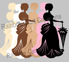 10 Victorian Lady Die Cut Embellishment Cutout Scrapbooking Card Topper Mother