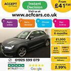 2012 GREY AUDI A1 14 TFSI 185 S LINE S TRONIC PETROL 3DR CAR FINANCE FR 41 PW