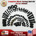 New Complete Black Fairing Bolt Fit for Honda CBR600RR 1000RR F4I F4 929RR 954RR