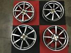 SET OF 4 LOTUS ELISE ALLOY WHEELS SILVER FINISH