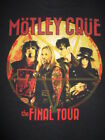 MOTLEY CRUE All Bad Things Must Come to an End Final Concert Tour 3X T Shirt