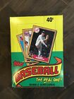 1987 Topps Baseball Unopened Wax Box (36 Sealed Packs) Excellent condition.