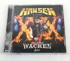 Thank You Wacken Kai Hansen And Friends Live CD DVD Like New Ear Music