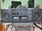 VINTAGE Sanyo Portable Mini Component System BoomBox Model C33 WAS TEXT WORK GOO