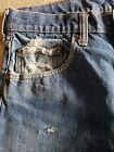 Vintage Levis 505 m Red Tab Jeans cutoffs Denim made in USA Size 30 distressed