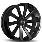 4Rims 20 Koko Kuture Wheels Kapan Gloss Black Rims FS