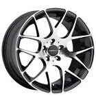 19 Staggered Avant Garde Wheels M310 Machine Gunmetal Rims