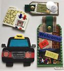 Travel Vacation Scrapbook Stickers Dimensional Unique And Retired