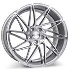 19 Staggered Ace Alloy Wheels Driven Silver with Machined Face Rims FS