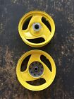 GENUINE SCOOTERS BUDDY 50 FRONT AND REAR TIRE RIMS - LEMONHEAD