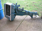 1960 Evinrude 10 HP Outboard Motor Sportwin Runs Awesome