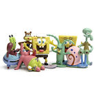 8 PCS SpongeBob SquarePants Patrick Sandy Gary Sheldon Action Figure Kid Toys US