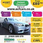 2014 SILVER BMW 530D 30 M SPORT DIESEL AUTO 4DR SALOON CAR FINANCE FR 85 PW