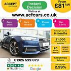 2016 BLUE AUDI A4 20 TDI ULTRA 150 SPORT DIESEL SALOON CAR FINANCE FR 81 PW