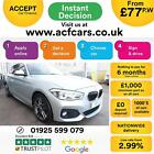 2016 SILVER BMW 120D 20 M SPORT DIESEL AUTO 5DR HATCH CAR FINANCE FR