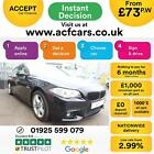 2013 BLACK BMW 520 20 M SPORT DIESEL AUTO 4DR SALOON CAR FINANCE FR 77 PW
