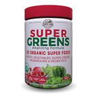 Country Farms Super Greens - 50 Organic Super Foods - Berry flavor - 20 servings