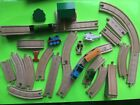 Thomas the Train wooden Railway Set w/ Harold The Helicopter, Gullane Shed ETC