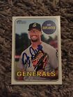 2018 Topps Heritage Minor League Baseball Cards - Mystery Redemptions 22