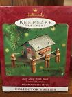 2000 HALLMARK TOWN AND COUNTRY BAIT SHOP WITH BOAT CHRISTMAS ORNAMENT-BRAND NEW!