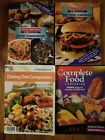 LOT OF 4 WEIGHT WATCHERS WINNING POINTS COMPANION BOOKS DINING OUT COMPLETE FOOD