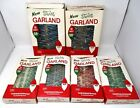 Vintage Foil Tinsel Garland Christmas 1960s Lot of 6 boxes Twist Doubl Glo MCM