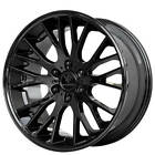 20 Verde Wheels V22 Duo Gloss Black Rims