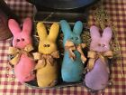 Primitive* Hand-crafted* Grubby* Pastel Bunnies* Bowl Fillers* Ornies* Easter