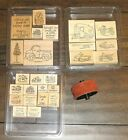 Stampin Up LOADS Of LOVE + ACCESSORIES  TAILGATING WHEEL  LOADS OF FUN RARE