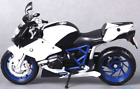 Motorcycles Racing Gift Toy white Diecast 1:12 Maisto BMW HP2 SPORT Model T04