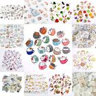 Lots Cartoon Decorative Stickers Cute Scrapbooking DIY Embellishments Bookmarks