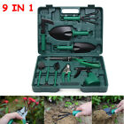 10PCS Carbon Steel Gardening Garden Bonsai Tool Kit Cutter Scissors