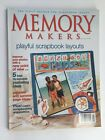 Memory Makers Playful Scrapbook Layouts July August 2003
