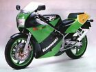 KAWASAKI  KR1-S GREEN/BLACK  FULL  DECAL  KIT
