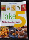 WEIGHT WATCHERS TAKE 5 150 FIVE INGREDIENT Recipes COOKBOOK Paperback 2003